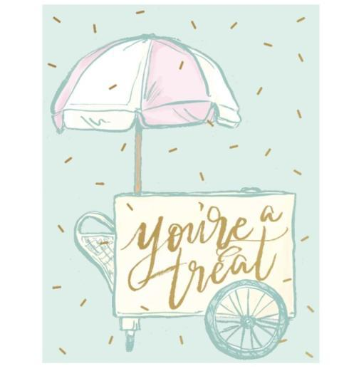 $4.25 You\'re A Treat Card