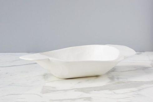 $138.00 Mod White Dough Bowl, Small