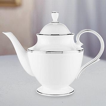 Lenox  Federal Platinum Teapot $230.00