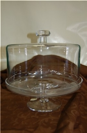 $94.00 Cakestand w/Dome