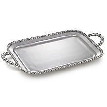 Mariposa  String of Pearls Pearled Service Tray $179.00