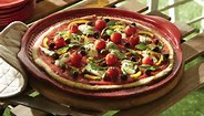 Pizza Stone Flame Red