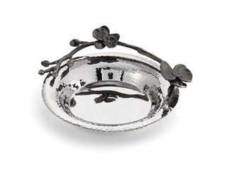 Michael Aram  Black Orchid Collection BLK Orchid Wine Coaster $99.00