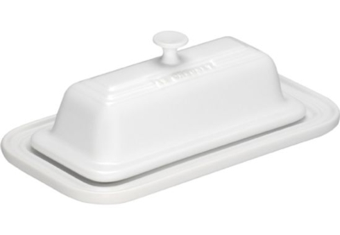 $42.00 Butter Dish White