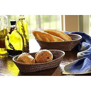 Calaisio   Oval Bread Basket Lg $71.50