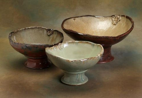 $262.50 Footed Bowl Freeform