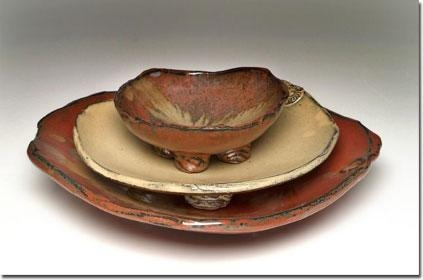 $74.00 Footed Serve Bowl