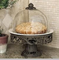 Cake Pedestal/Dome CR collection with 1 products