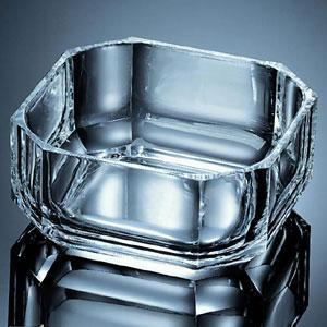 $50.00 Octagon Bowls Set 4 Clear