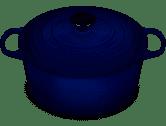 Le Creuset   Rnd Indigo Oven $410.00