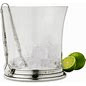 $410.00 Ice Bucket w Handles and Tongs