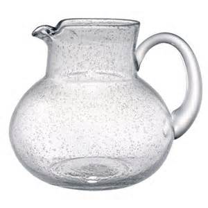 $24.00 Iris Clear Pitcher