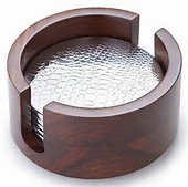 Kenya Rosewood Coasters collection with 1 products