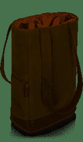 $25.00 Khaki 2 Bottle Bag