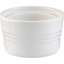 Le Creuset  Stoneware Ramekin White Stackable $16.00