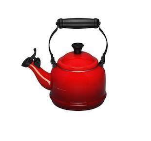$70.00 Teakettle Demi 1.25 QT Red