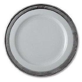 $111.50 Convivio Dinner Plate, White