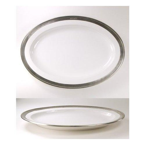 $176.50 Convivio Oval Serving Platter Sm WH