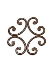 Single Trivet Montana Rust collection with 1 products