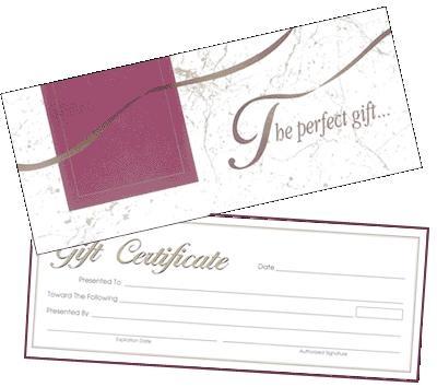 $50.00 50 Dollar Gift Certificate