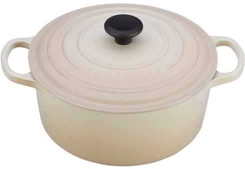 Le Creuset  Enameled Cast Iron Round French Oven 3.5 Qt. white $285.00