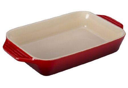 $35.00 7x5 Rect. Dish Cerise