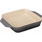 Le Creuset  Stoneware Sq Baker Oyster $50.00