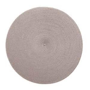 Silver 2-Tone Rnd Mat