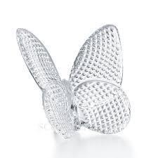 $160.00 Papillon Lucky Diamond Cut Butterfly Clear