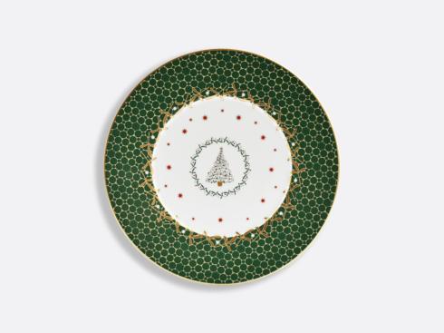 $68.00 Noel Dessert Plate Green Tree
