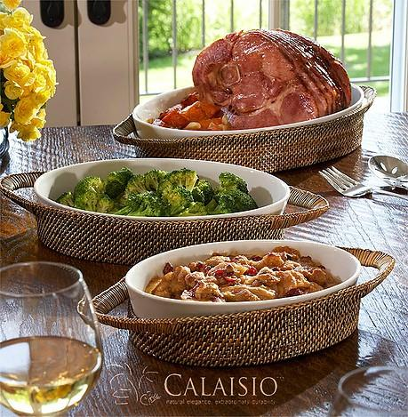 Calaisio   Oval Baker Large $154.00