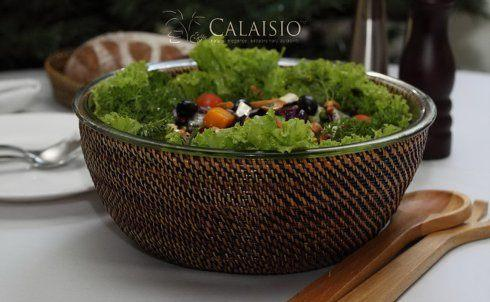 Round 4 Quart Salad Bowl collection with 1 products