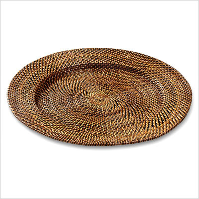 Calaisio   Round Plate Charger $26.00