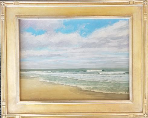 The Globe Exclusives   Don Lewis Original Beach Painting $800.00
