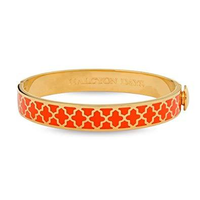 $200.00 Agama Orange and Gold Bangle