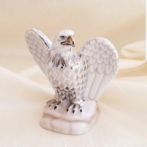 $430.00 Herend Eagle in Platinum