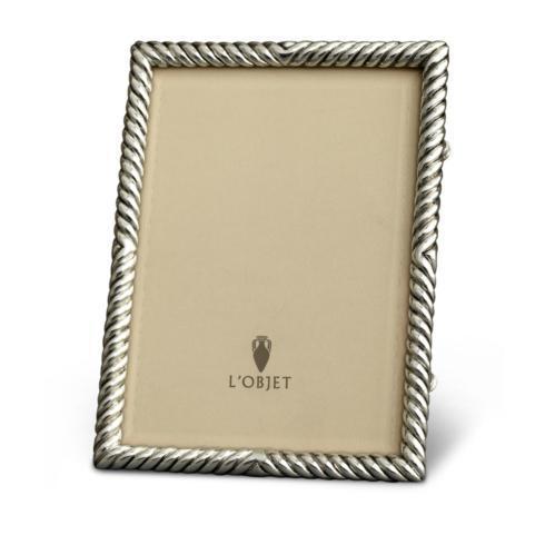 $275.00 L\'Objet Deco Twist Frame Platinum