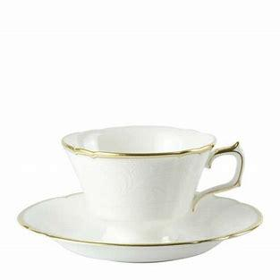 $87.00 Darley Abbey Pure Tea Cup and Saucer Gold