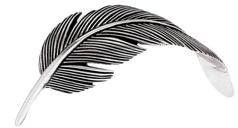 Gamecock Feather Pin