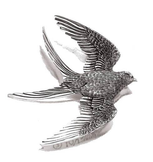 Swallow Tailed Kite Pin/Pendant