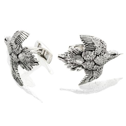 $250.00 Dove Cufflinks - Pair - Sterling Silver