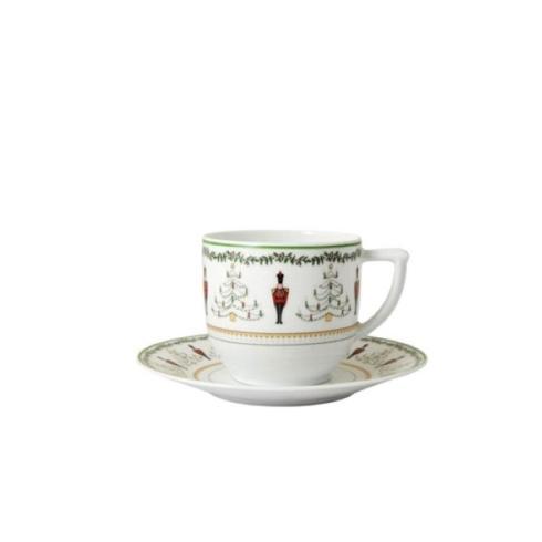 Bernardaud  Grenadiers Grenadiers Coffee Cup and Saucer $110.00
