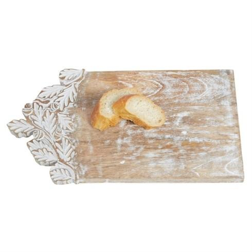 $34.00 Carved Leaf Cutting Board