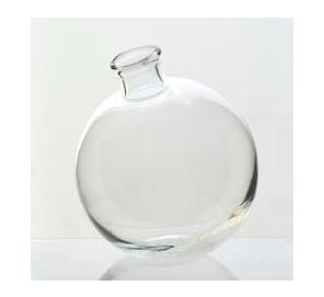 $22.00 Sphere Vase, Clear