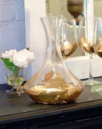 Gold Leaf Decanter collection with 1 products