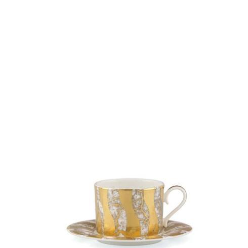 Michael Wainwright  Tempio Luna Gold Cup and Saucer $120.00