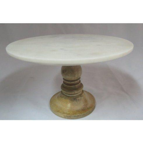 Generations Exclusives  Marble Small Marble Cake Stand $48.00