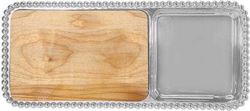 $154.00 Pearled Cheese and Cracker Server