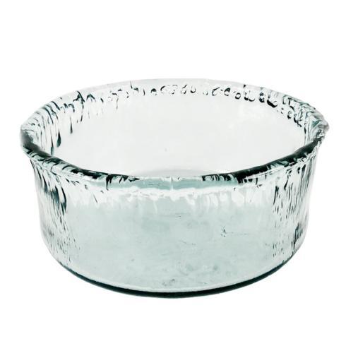 $40.00 Medium Ruffle Glass Serving Bowl