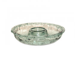$60.00 Ruffle Glass Chip and Dip